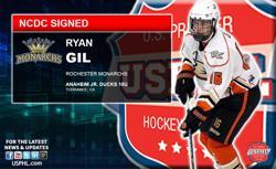 Rochester Monarchs Make Anaheim Ducks 18U Star Their First Tender
