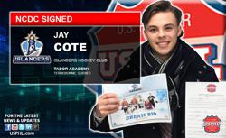NCDC's Islanders HC Sign University of Vermont Bound Star from Quebec