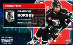 South Shore Kings Brandon Borges Makes NCAA Commitment