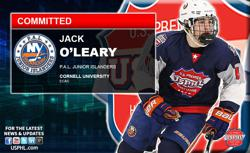 PAL Junior  Islanders' Jack O'Leary Commits to Cornell University