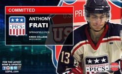 Springfield Pics' Anthony Frati Makes NCAA DIII Commitment