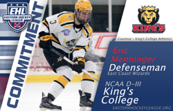 Menninger Commits to King's College