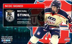 Michal Stinil Tenders with South Shore Kings for 2017-18 NCDC Season