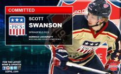 Springfield Pics' Scott Swanson Commits to NCAA DIII Norwich University