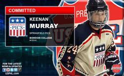 Springfield Pics' Keenan Murray Commits to NESCACS Bowdoin College