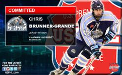 Jersey Hitmen's Chris Brunner-Grande Makes NCAA Commitment