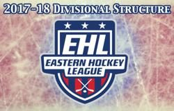 EHL 2017-18 Divisional Structure