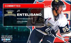 Rochester Monarchs Elite JT Entelisano Commits to Utica College
