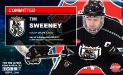 South Shore Kings Premier Captain Tim Sweeney Makes NCAA Choice