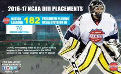 USPHL Teams Lead Nation in 2016-17 NCAA DIII Placements