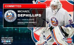 PAL Junior  Islanders' DePhillips Commits to Arizona State University