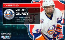 PAL Junior Islanders' Gilroy Makes NCAA DI Commitment to Sacred Heart