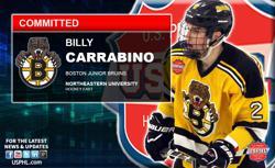 Junior Bruins Billy Carrabino Commits to Northeastern University