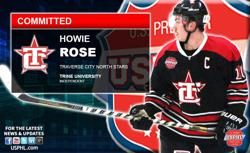 Traverse City North Stars Howie Rose Earns College Commitment