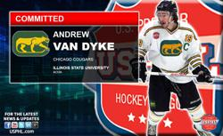 Chicago Cougars Co-captain Andrew Van Dyke Commits to Illinois State