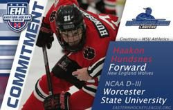 Hundsnes Commits to Worcester State