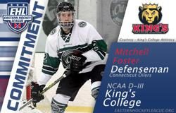 Foster Commits to King's College