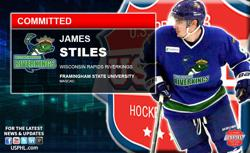 Wisconsin Rapids Riverkings James Stiles to NCAA Framingham State University