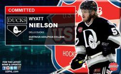 Dells Ducks Wyatt Nielson Commits to NCAA DIII Gustavus Adolphus