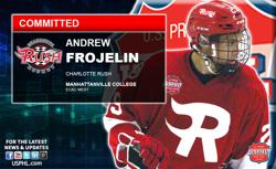 Charlotte Rush's Andrew Frojelin Gets His NCAA College Commitment
