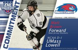 Brown Commits to UMass Lowell