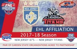 87's and Titans Announce Affiliation