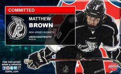New Jersey Rockets' Matthew Brown Commits to UMass-Lowell