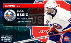 PAL Junior Islanders Cole Essig Commits to Lawrence University