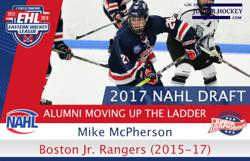 EHL Players Moving Up The Ladder – NAHL Draft