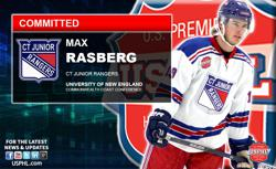 Rangers' Max Rasberg Commits to University of New England (UNE)
