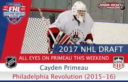 All Eyes on Primeau This Weekend