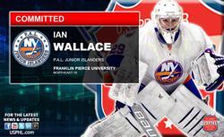 Elite PAL Jr. Islanders Ian Wallace Makes NCAA DIII Commitment
