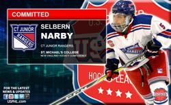 CT Rangers' Selbern Narby Commits to St. Michael's College (NEHC)