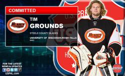 Steele County Blades Netminder Commits to NCAA's University of  Wisconsin-River Falls