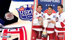 Rush Raise USPHL Championship Banner, Host Parade, Pass Out Rings