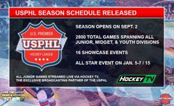 USPHL Releases 2017-18 Regular Season Game Schedule