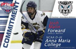 Malin Commits to Anna Maria College