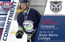Pederson Commits to Anna Maria College