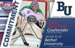 Djurberg Commits to Bethel University