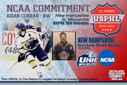 University of New Hampshire 'right choice' for Monarchs' Curran