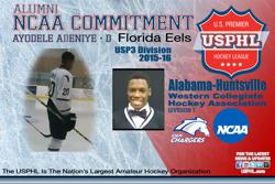Charging towards his future: Former Eel Adeniye, on commitment to Alabama-Huntsville
