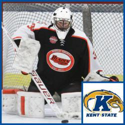 Steele County Blades Goaltender Nick Mizen Commits to Kent State University