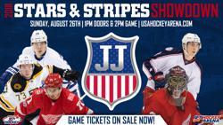Stars & Stripes Showdown Set For Aug. 26 at USA Hockey Arena