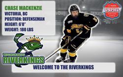 Riverkings Sign Victoria, BC Defenseman Chase McKenzie