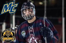 B's Blueliner Makes College Choice