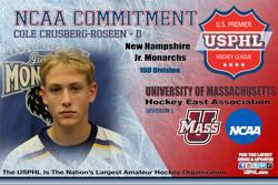 Making of a Minuteman: Monarchs' Crusberg-Roseen commits to University of Massachusetts