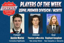 USPHL Premier Division: Players Of The Week / North Divisions
