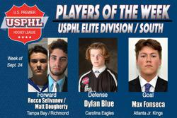 USPHL Elite Division: Players Of The Week / South