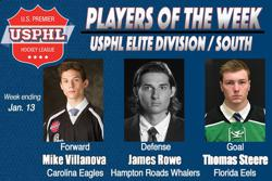 USPHL Elite: Players Of The Week / Southern Divisions