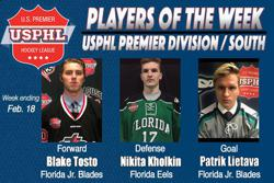 USPHL Premier: Players Of The Week / Southern Divisions